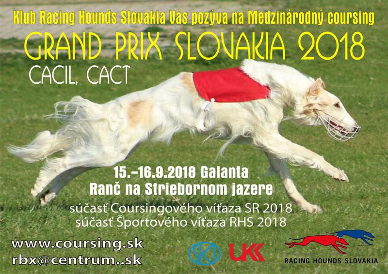 Grand Prix Slovakia 2018 CACIL, CACT v Galante