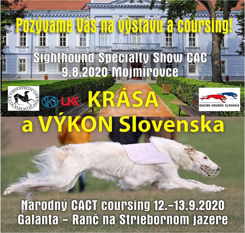 Národný coursing Krása a Výkon Slovenska